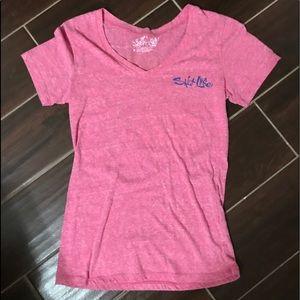 New never worn ... Pink women's Salt Life shirt